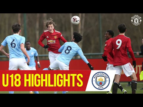 U18 Highlights | Manchester United 4-2 Manchester City | The Academy