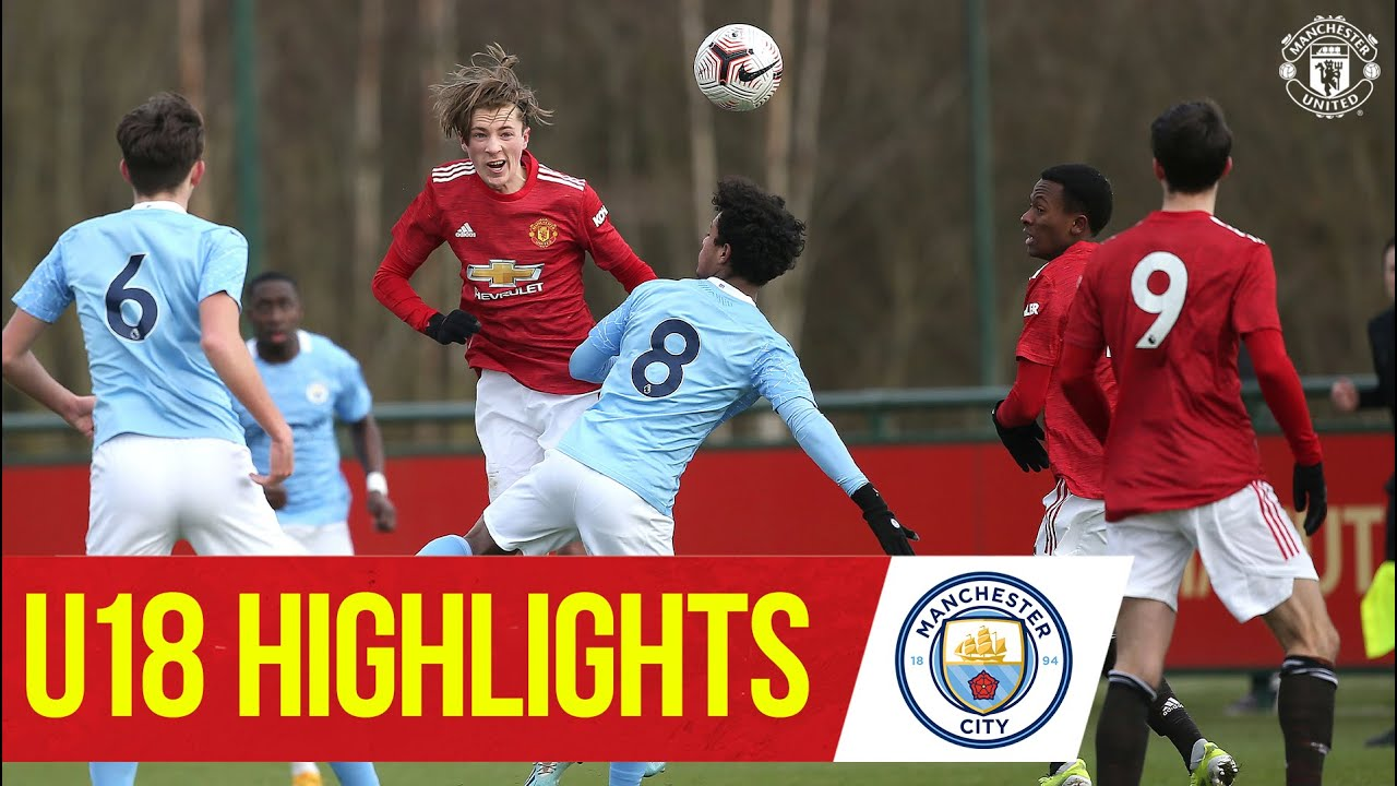 Download U18 Highlights | Manchester United 4-2 Manchester City | The Academy