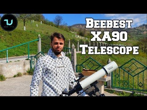 Review Beebest XA90 Telescope From Xiaomi Youpin 2019/Astronomy/Moon Night Sky