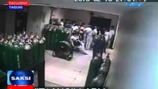 Saksi: Baby na tinangay sa Taguig-Pateros District Hospital, nasagip na