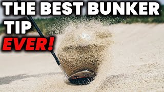 Possibly the BEST Buฑker Tip EVER! - How to play bunker shots from Hard or Soft Sand