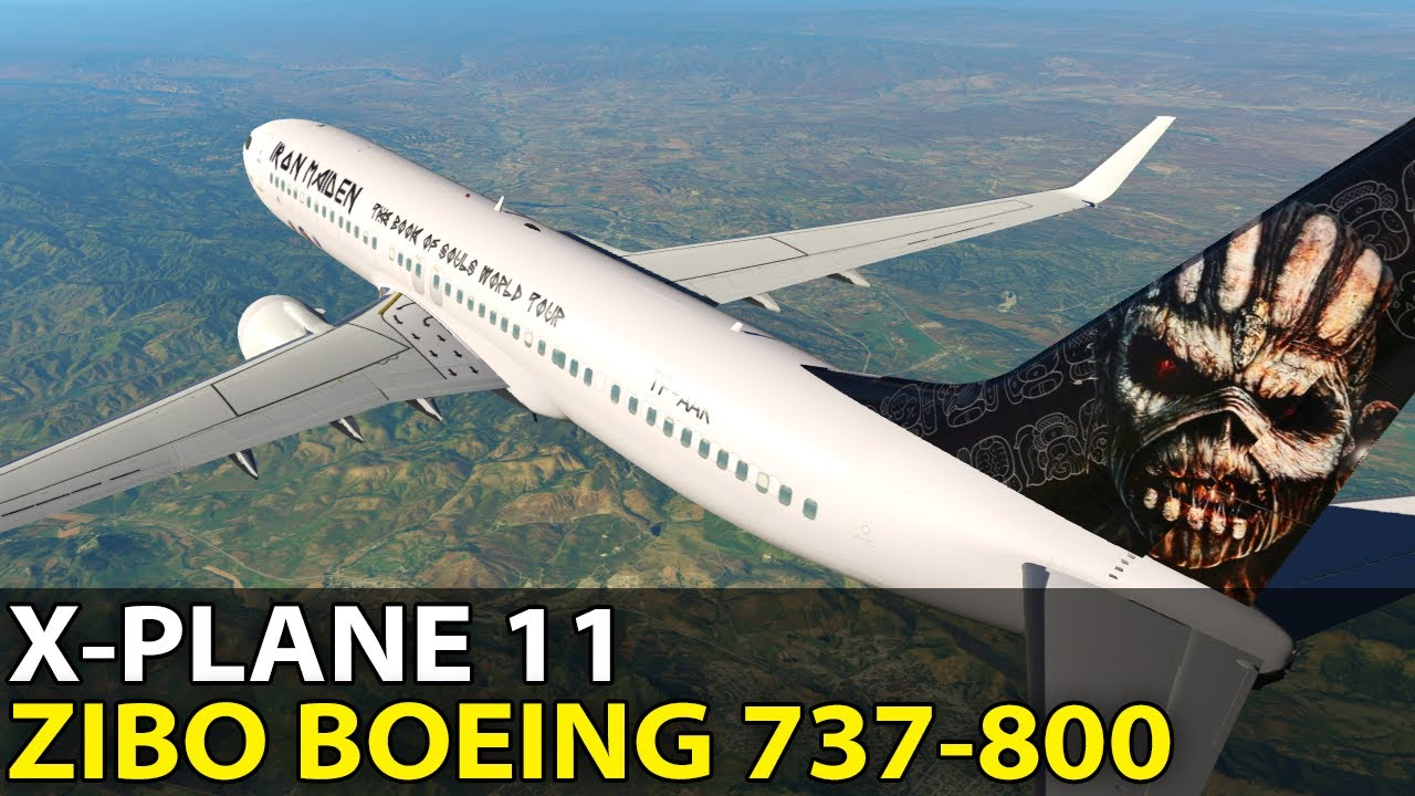 Ready to Rock! Zibo Modified Boeing 737-800 in X-Plane 11, PilotEdge ✈️  2017-06-23