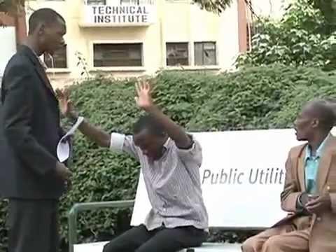 Pasua kenyan show - funny whip prank