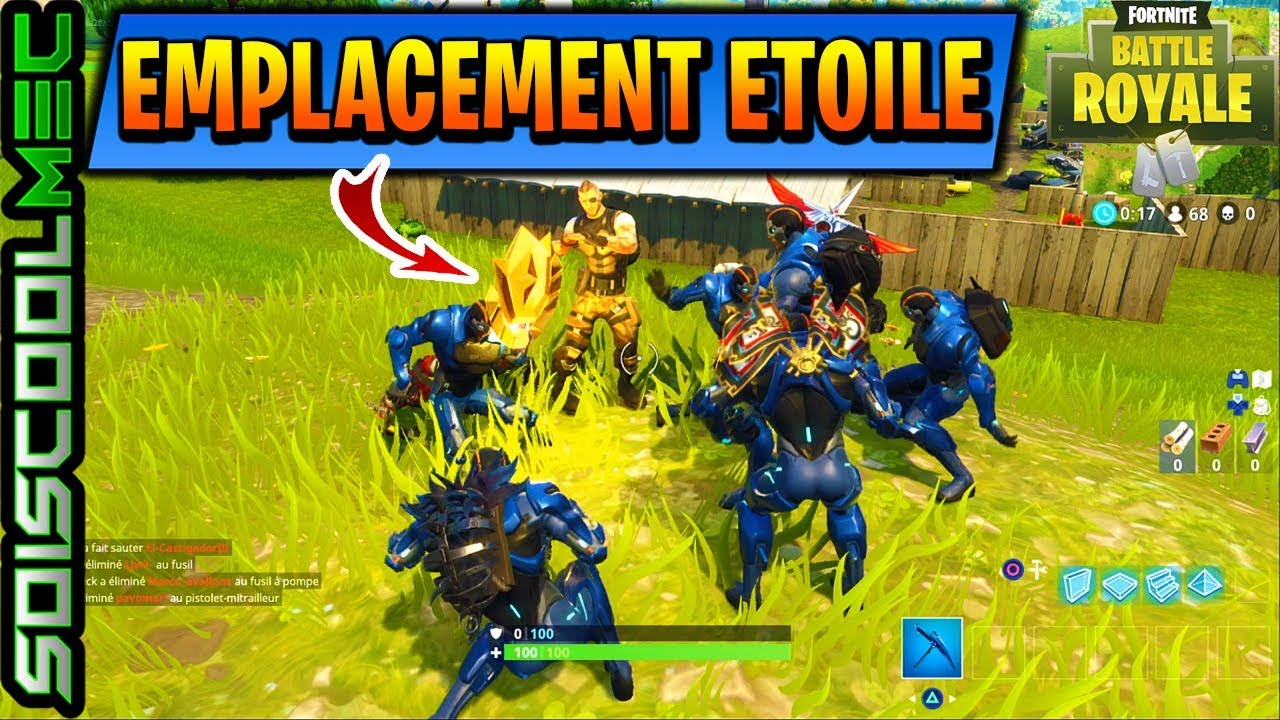 Fortnite Saison 7 Semaine 2 Etoile Cache Fortnite Mobile