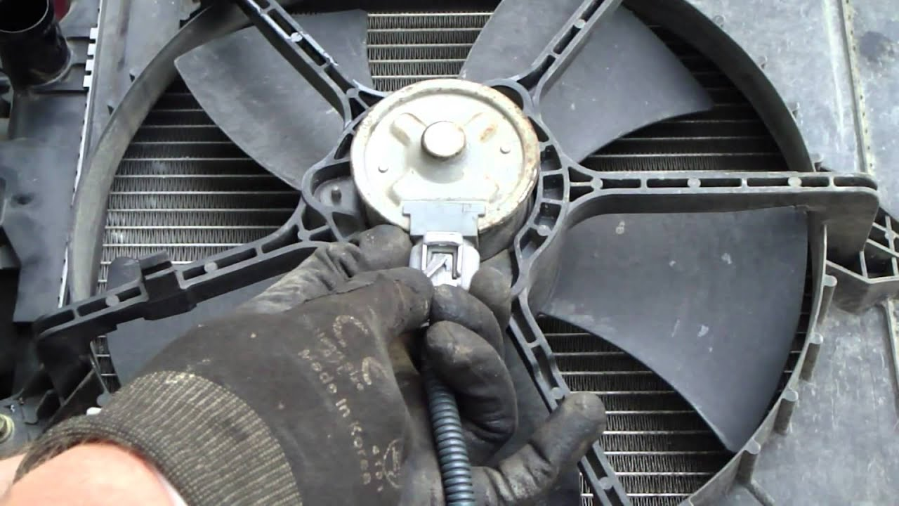 medium resolution of how to open hard electric wire in radiator fan toyota corolla