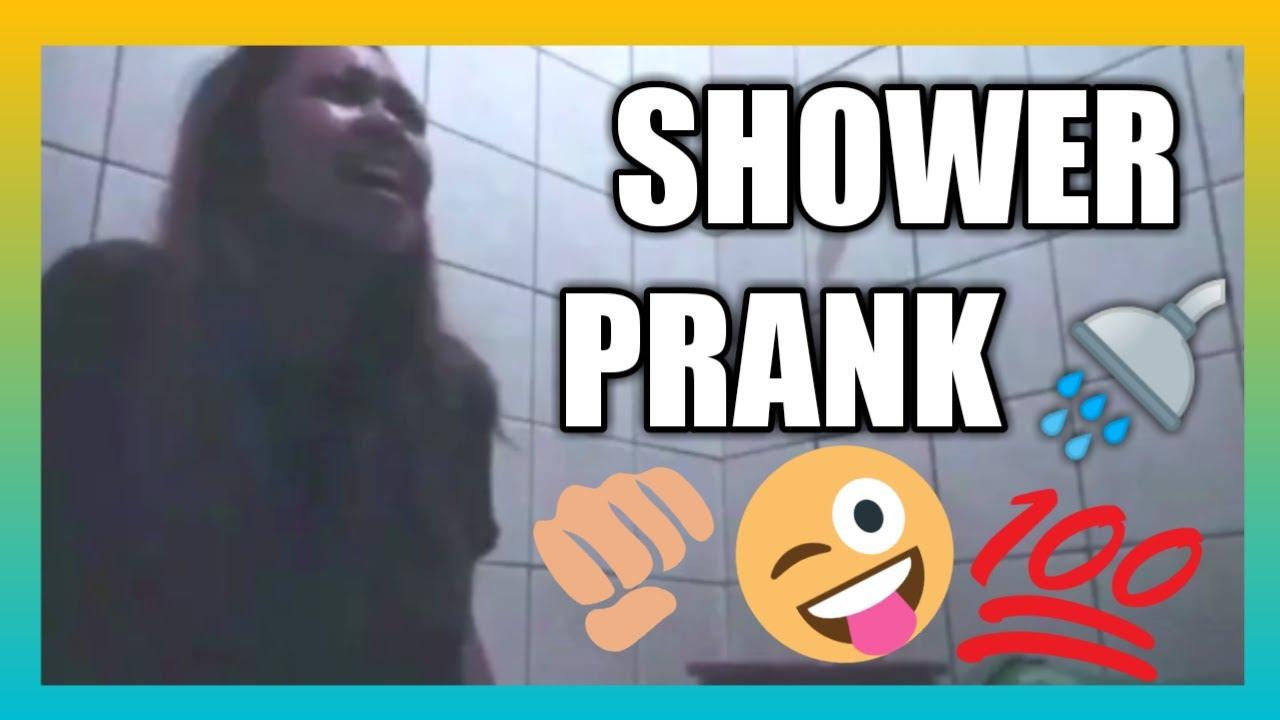 SHOWER PRANK!!! - YouTube