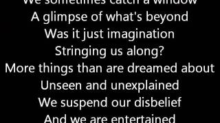 Rush-Mystic Rhythms (Lyrics)