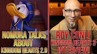 Nomura Talks About Kingdom Hearts 2.9, Roy Conli KH3 Interview, KH POP NEWS!