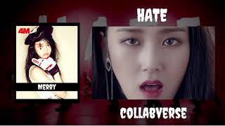 【COLLABVERSE】4MINUTE (포미닛) - Hate (싫어)【Coverist Haven】