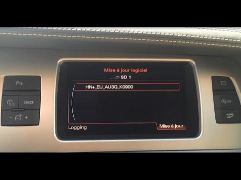 Audi MMI 3GP Firmware K900 Install
