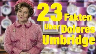 🌺 23 FAKTEN über Dolores UMBRIDGE 🌸