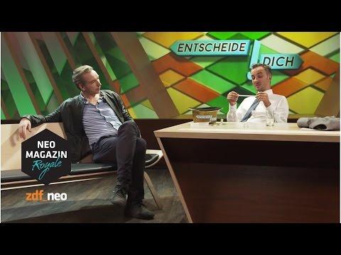 Entscheide dich! mit Olli Schulz   #sundb NEO MAGAZIN ROYALE mit Jan Böhmermann - ZDFneo