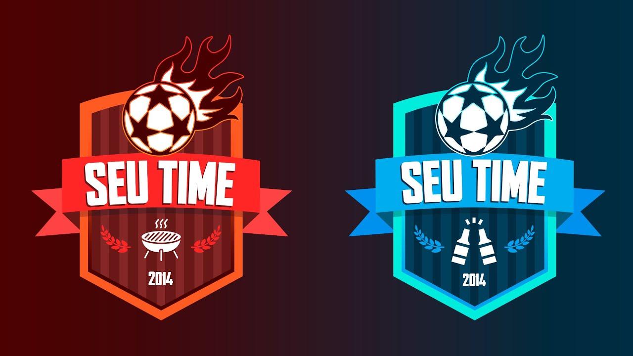 Escudo de Futebol no Photoshop, crie o do seu time agora!