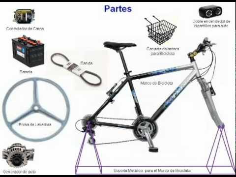 Bicicleta generador youtube - Generador de luz ...
