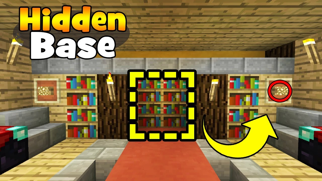 How To Make A Secret Room On Minecraft