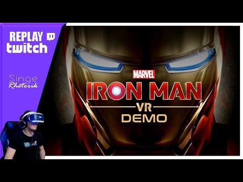 Replay Twitch : IRON MAN VR | Meilleure Qualité - 1080p + Facecam (Version Longue) | VR Singe