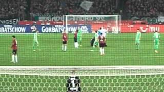 Hannover 96 gegen Wolfsburg 2:0