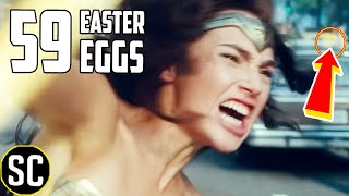 Wonder Woman 1984 Trailer: Every Easter Egg, Reveal + Things You Missed thumbnail