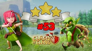 *NEW* FOREST OUTING GOBLIN MAP - 3 STAR WITH ARCHERS - LEVEL 53 - CLASH OF CLANS