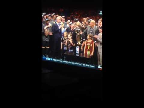 CLEVELAND CAVALIERS WINS NBA CHAMPIONSHIP!!!