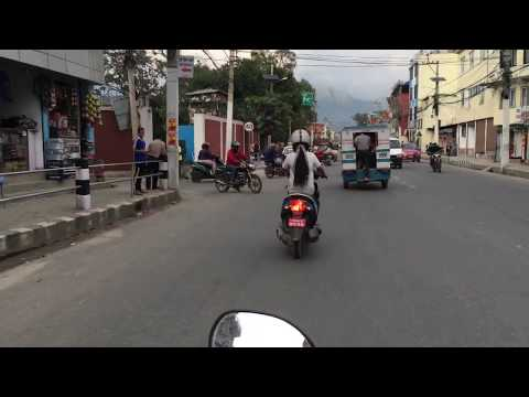 Motor bike experience Nepal