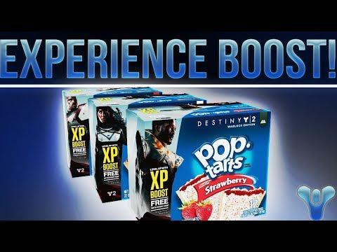 DESTINY 2 POP TARTS!! (New XP Boost Promotion)