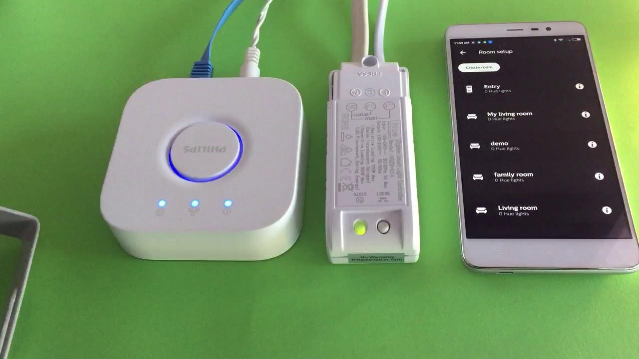 Philips Hue Zigbee : demo on pairing nue zigbee 3 0 light controller with philips hue bridge youtube ~ Watch28wear.com Haus und Dekorationen