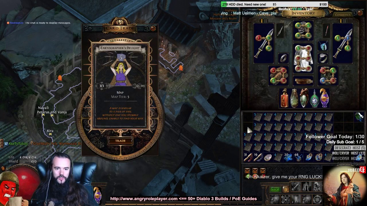 Trading 200+ DIVINATION CARD SETS! (Path of Exile Harbinger League Journal #30) - YouTube