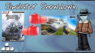 Simulator Showdown - Trainz 12 vs Train Simulator 2014