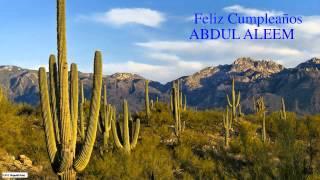 AbdulAleem   Nature & Naturaleza - Happy Birthday