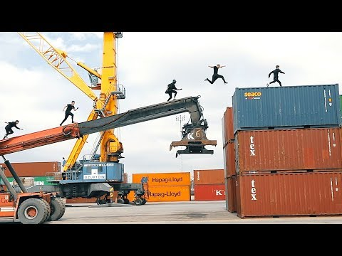 Crossing Continents - Parkour and Moving Obstacles 🇹🇷#ad