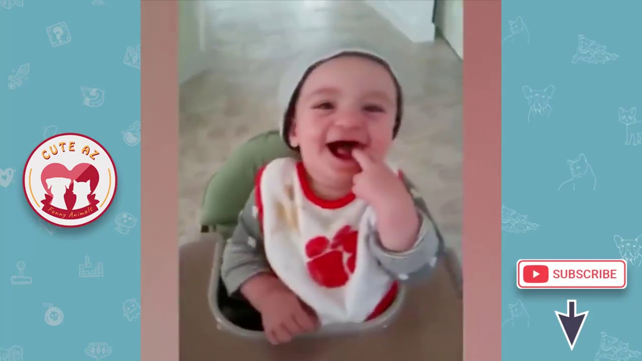 Funny Babies and Pet  Fun and Fails  Funniest Babies u0026 Dogs Trouble Maker 1