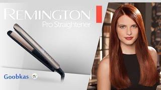 видео Выпрямитель волос Remington S1400