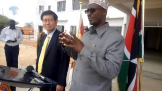 South Korea and Wajir county to work hand in hand for development purposes