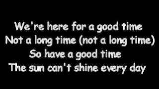 Trooper - Here For A Good Time (Lyrics)