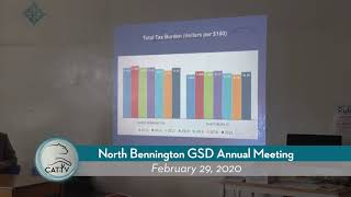 North Bennington GSD Annual Meeting // 02/29/20