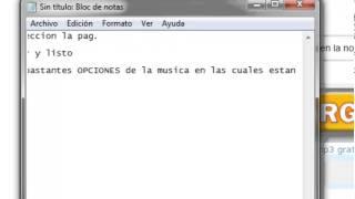 Descargar gratis musik (N-MP3) facil y sencillo