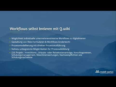 Q.wiki - Workflow Generator