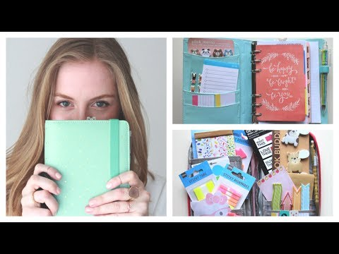 What 39 s in my filofax kikki k planner styleplaygroundtv for For planner