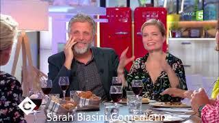 Sarah Biasini interview France Bleu