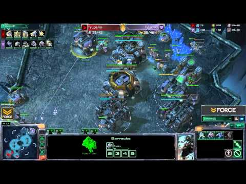 StarCraft 2 - Jim [P] vs WP [T] G2 (Commentary)