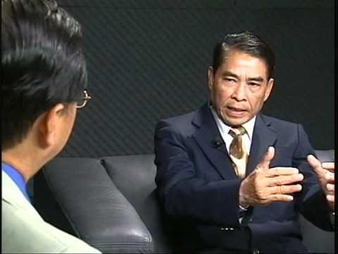 Part 1 of 3,  Lao TV interviewed H.E Khamphoui Sisavatdy