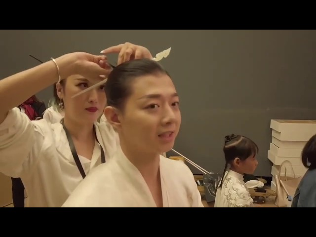 HEAVEN GAIA SS20 with HUO-ZUN 霍尊 BEHIND THE SCENE | DNMAG