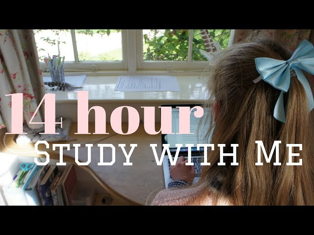 Study with Me || 14 Hour Study Day