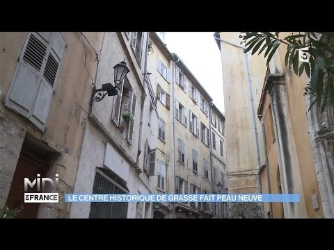SUIVEZ LE GUIDE : Le centre historique de Grasse fait peau neuve