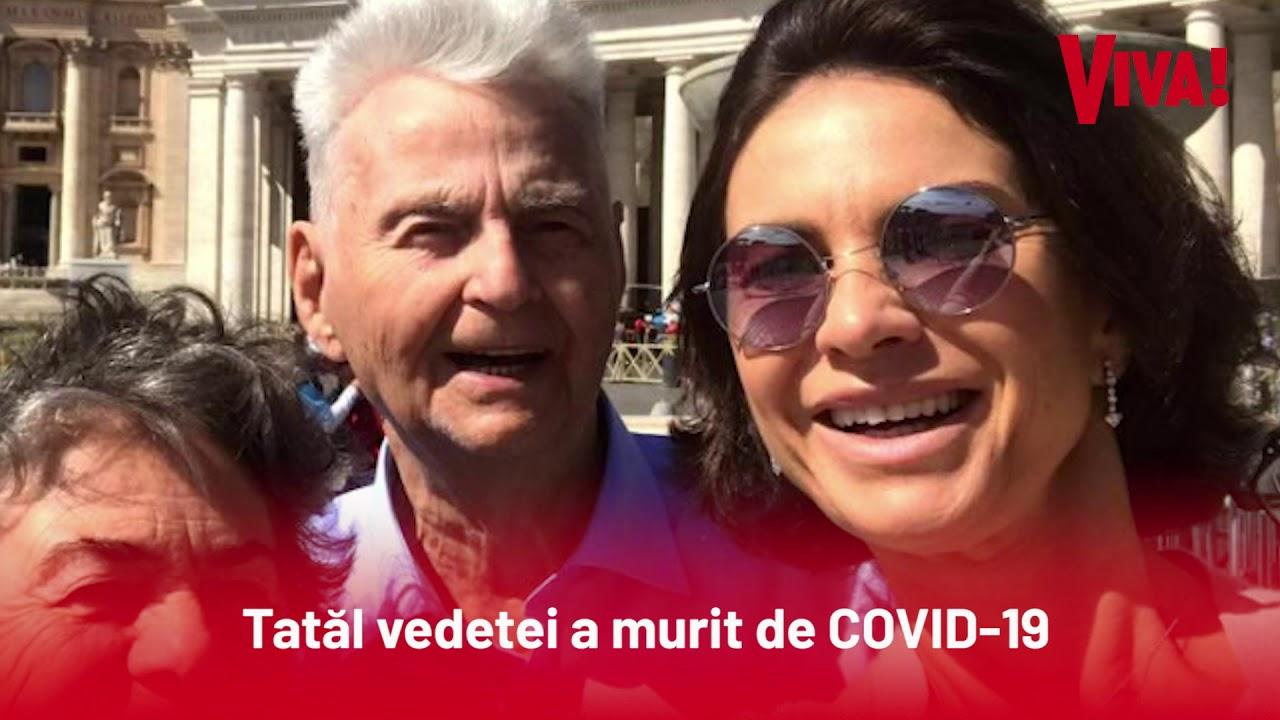 Ramona Bădescu este în doliu. Tatăl vedetei a murit de COVID-19 la spitalul pe care el l-a construit
