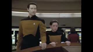 "Star Trek TNG Data ""Drop the shields"""