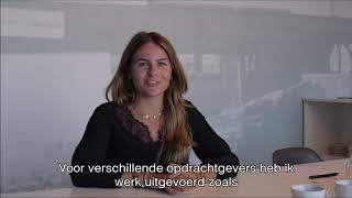 Business School Notenboom student Julia loopt stage bij Communiteers