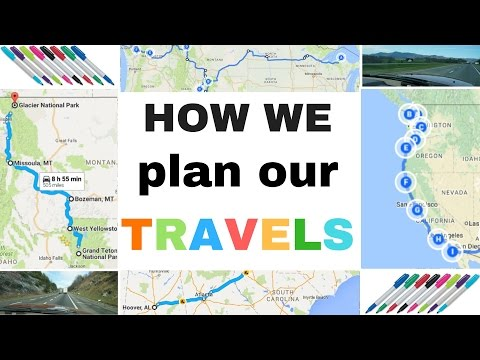 How We Plan our Full-Time RV Travels - One Year on the Road