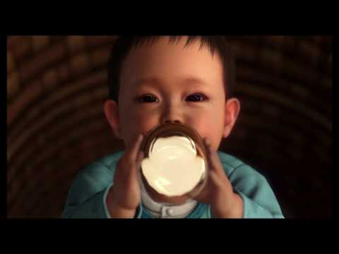 Yakuza 6: The Song of Life - Prologue:  Kazama Kiryu Feeds Baby Haruto Introduction Cutscene (2018)